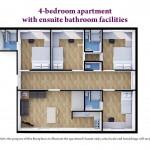 4 Bedroom Ensuite Bathroom