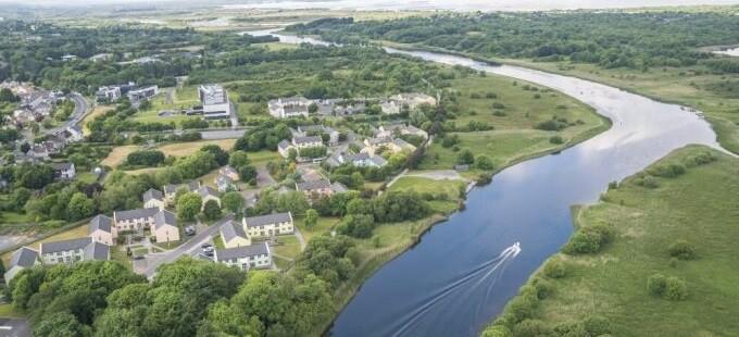 Aerial Corrib Village