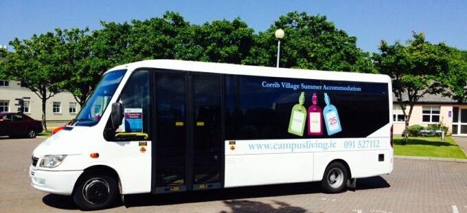 corrib village bus