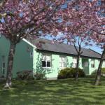 Corrib Village in Spring