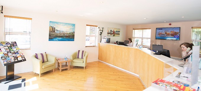 nui galway accommodation reception