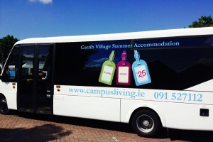 corrib village shuttle bus